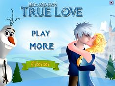 Elsa And Jack True Love Play at http://www.jogosdafrozen.com/amor/elsa-and-jack-true-love