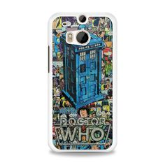 Tardis Doctor Who Comic Book HTC One M8 Case | yukitacase.com