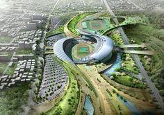 Een stadion als robuuste ecologische verbinding.