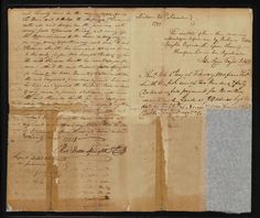 This deed, survey and plat, dated 25 September 1799, granting 240 acres of land in Bladen County, North Carolina to Thomas Smith, was signed by North Carolina Governor Richard Dobbs Spaight, who also signed the U. S. Constitution. Spaight (1758–1802) was North Carolina's 8th governor after American independence. The first native-born American to be elected Governor, he served three one-year terms, 1792–1795. Read more about our collections at the Special Collections Staff Picks blog.