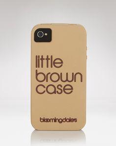 Bloomingdale's iPhone Case - Little Brown Case | Bloomingdale's