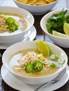 Lime Quinoa And Chicken Soup : healthy-dinner-recipes