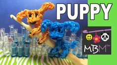 Rainbow Loom Pencil Hugger: Puppy Dog Climber