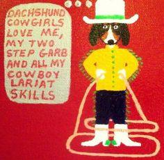 Cowgirls love cowboy doxies