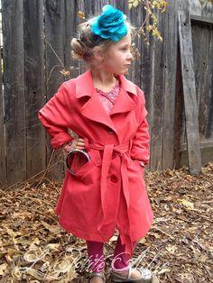 Nancy Clancy trench coat costume