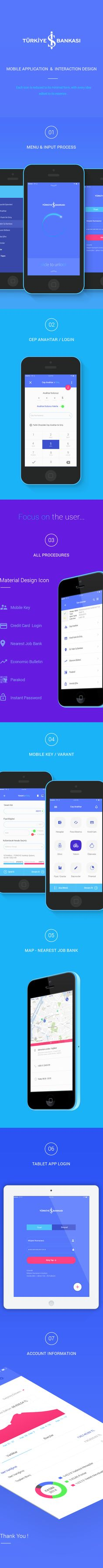 İşCep | Concept App reDesign. on Behance