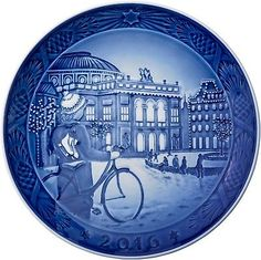 2016 Royal Copenhagen RC Christmas Plate - New in Box - Free Shipping