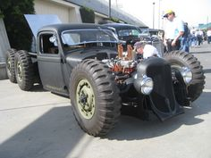 Rat Rod. Not sure what it started life as, but I like it.