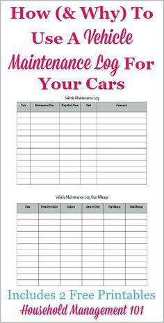 Car Maintenance Schedule Spreadsheet | Car Maintenance Tips ...