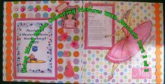 Scrapbooking: Capturing Your Ballerina In Colour Part 2 Scrapbook Blog, Scrapbooking, Ballerina, Arts And Crafts, Colour, Frame, Pretty, Artist, Color