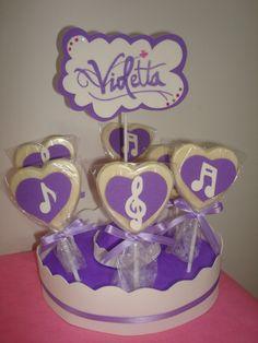 Violetta Disney -chupetines Chocolate - Souvenir