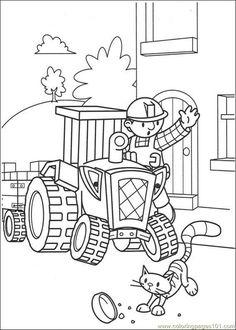 bob der baumeister ausmalbilder, malvorlagen bob der baumeister | ann's coloring pages | bob der