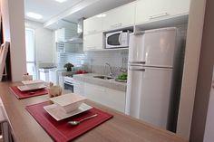 Arquitetura Feminina: Apartamento Decorado: Cozinhas - Parte 2