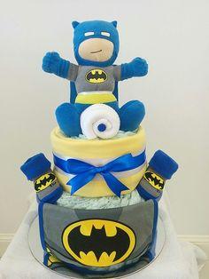 Batman Nappy Cake - Themed Nappy Cakes