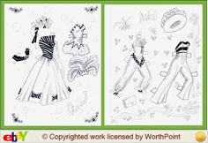 Ann Miller paper doll singer and dancer / worthpoint.com