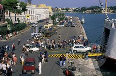 Brindisi, Italy.  Drove our car onto a ferry just like this on our way to Greece.