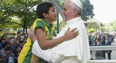 Vaticano divulga fotos inéditas do Papa Francisco durante visita ao Rio - Jornada Mundial da Juventude - O Dia