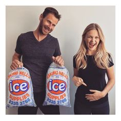 Ice ice baby - Pregnancy Announcement