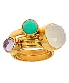 Didi Colley Jujube stackable rings