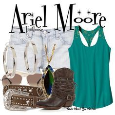 Inspired by Julianne Hough as Ariel Moore in the 2011 remake of Footloose. Star Fashion, Fashion Outfits, Womens Fashion, Everyday Outfits, Everyday Fashion, Princess Inspired Outfits, Ariel Footloose, Footloose 2011, Fashion Styles