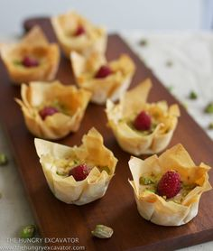 Best filo tartlet shells recipe on pinterest for How to make canape shells at home