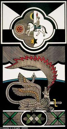 A espada e o dragão (2000), Gilvan Samico