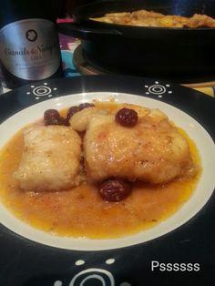La cocina de Pssssss: BACALAO CON HUEVOS, CIRUELAS Y PANSAS DE CUARESMA !!
