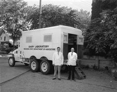 Dairy Laboratory Truck | Photograph | Wisconsin Historical Society