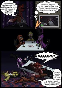 Five nights at Freddy's - there goes foxy...