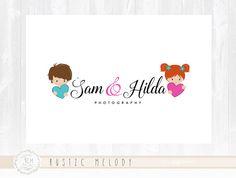 Children Logo Design Little Boy Logo Childcare by Kids Logo, Custom Logo Design, Custom Logos, Childrens Logo, Balloon Logo, Birthday Logo, Party Logo, Event Logo, Watercolor Logo