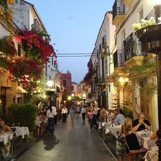 Marbella has it all, ancient historic town, beautiful mediterranean beaches, glitzy Puerto Banus Marina with designer shops and fabulous gormet restaurants.