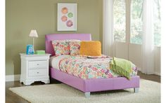 Youth  Bed   Available in Pink   or Lavender   Twin Size      $299.00     BERN 1194 pink              BERN 1196 lavender