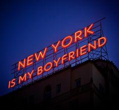 New York is the BEST BOYFRIEND EVER.