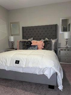 Fancy Bedroom, Room Design Bedroom, Stylish Bedroom, Small Room Bedroom, Room Ideas Bedroom, Home Bedroom, Bedroom Inspo, Beauty Room Decor, Decor Home Living Room