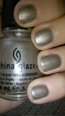 """Hook and Line"" (District 4 - Fishing) nail polish from the China Glaze Hunger Games Collection ""Capital Colours""."