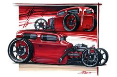 Ideas for my Street Rod:Rendering Your Dreams - Portland Speed Industries