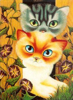 """""""Dubbeldekker Kittens"""" par Anna Hollerer"""