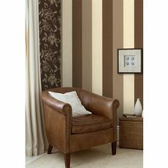 Graham and Brown Drama Figaro Wallpaper - Neutral from Homebase.co.uk