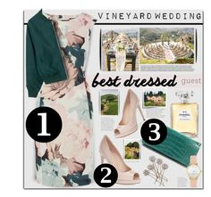 """Vineyard Wedding guest attire...."" by angiesprad ❤ liked on Polyvore featuring Fendi, Chanel, Jimmy Choo and Vineyard Vines"