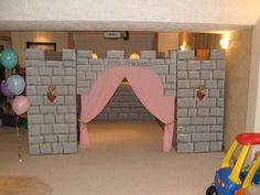 cardboard castle inside by mr.mcgroovy, via Flickr