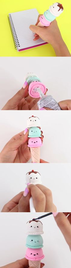 Supernatural Style | https://pinterest.com/SnatualStyle/ Ice-Cream Pen Part 6|Nim C