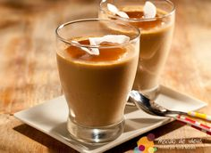 pannacotta cafe   Panna cotta de café com leite e coco