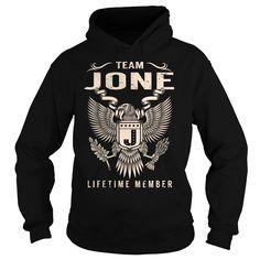 (Tshirt Suggest Discount) Team JONE Lifetime Member Last Name Surname T-Shirt Coupon Today Hoodies Tees Shirts