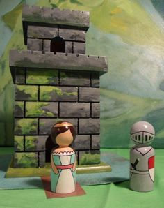 Peg dolls are easily documentable and the options for them and stump dolls (with carved details) are endless