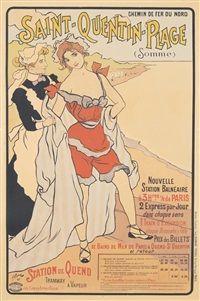 Saint-Quentin-Plage, 1897, Ferdinand Bac