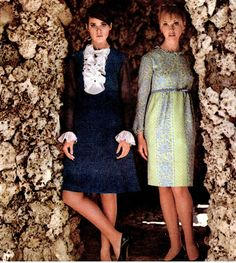 Colleen Corby inSeventeenmagazine, 1966.