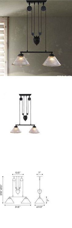 Chandeliers And Ceiling Fixtures 117503 Stately Vintage Industrial Pulley Style Metal Chandelier Light Fixture Lights