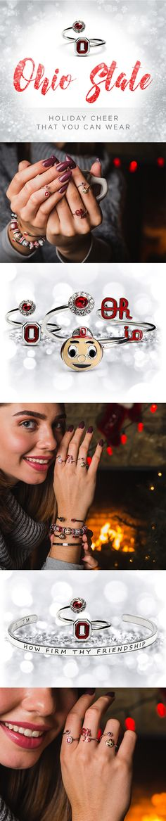 Perfect gift for Ohio State Buckeyes fans. Ohio State jewelry | StoneArmory.com