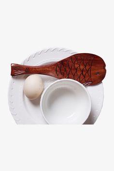 Vintage Wood Handmade Rice Spoon
