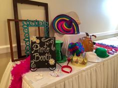 Lots of props for this great photobooth at the Heritage Resort!